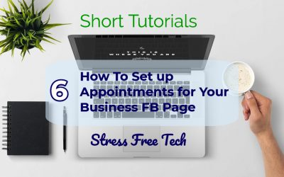 How to set up appointments for your Facebook Business Page